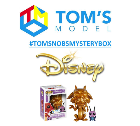 Tom's No BS Mystery Box! Digging for Disney Gold in the #TomsModelVault