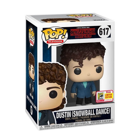 Funko Pop! Television: Stranger Things - Dustin (Snowball Dance) SDCC 2018 Limited Edition (Buy. Sell. Trade.)
