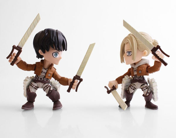 The Loyal Subjects SDCC 2017 Exclusive Attack on Titan Eren & Annie Fear 2 pk