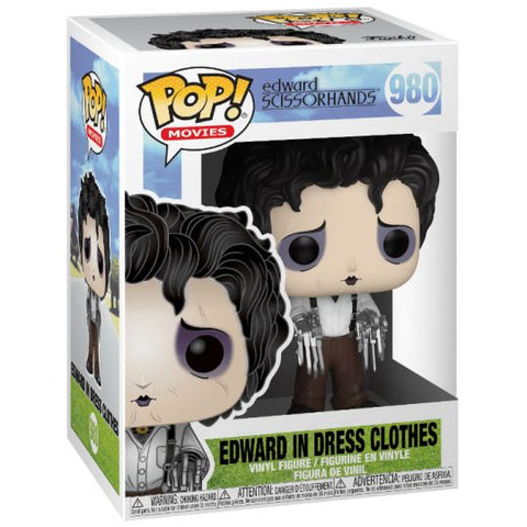 Funko Pop! Movies: Edward Scissorhands - Edward in Dress Clothes