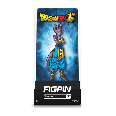 FiGPiN Dragon Ball Super Beerus