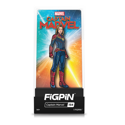 FiGPiN Captain Marvel
