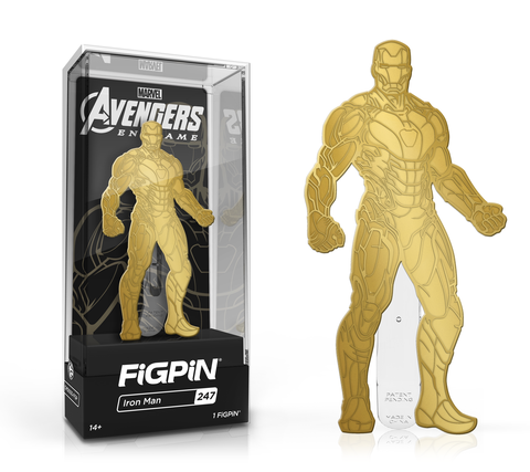 Figpin Marvel Avengers Endgame Iron Man 247 Limited Edition 2019 (Gold Finish) and Iron Man 321 ( Rainbow) Set of 2 (Buy. Sell. Trade.)