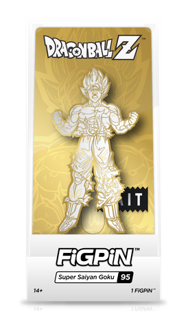 Figpin Animation Dragon Ball Z Super Saiyan Goku 95 NYCC 2018 Exclusive (Buy. Sell. Trade.)