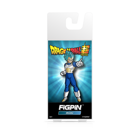 FiGPiN Mini Dragon Ball Super - God Super Saiyan Vegeta (Coming in October)