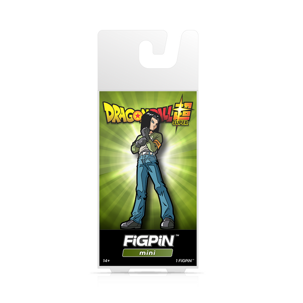 FiGPiN Mini Dragon Ball Super - Android 17 (Coming in October)
