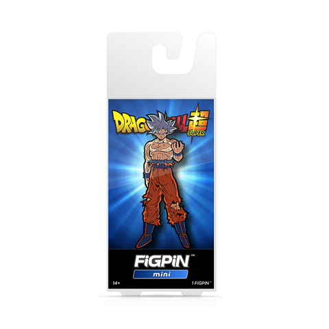 FiGPiN Mini Dragon Ball Super - Ultra Instinct Goku (Coming in October)