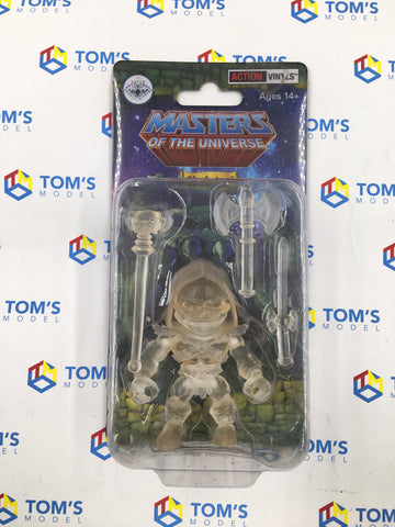 The Loyal Subjects Super Double Diamond Club Masters Of The Universe Skeletor Clear