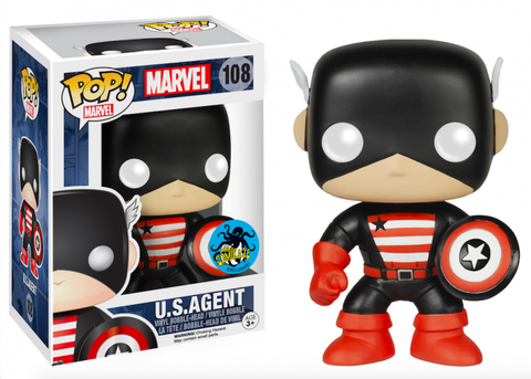 Funko Pop! Marvel U.S. Agent Comikaze Exclusive (Buy. Sell. Trade.)