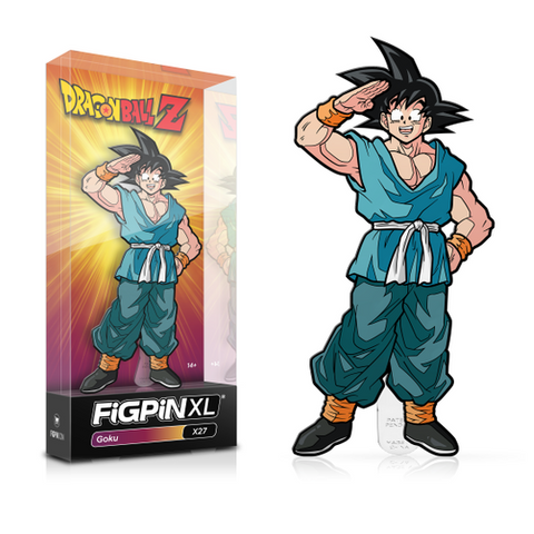 "FiGPiN Dragon Ball Z Goku X27 XL 6"" (Coming Soon)"