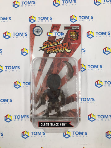 The Loyal Subjects Super Double Diamond Club Street Fighter Ken Clear Black
