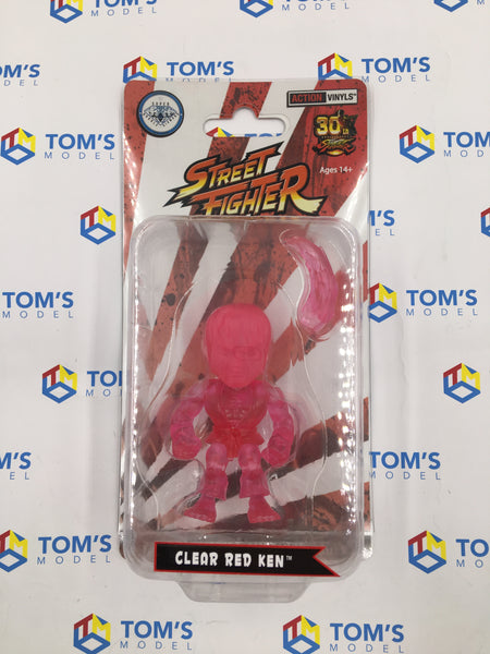 The Loyal Subjects Super Double Diamond Club Street Fighter Ken Clear Red