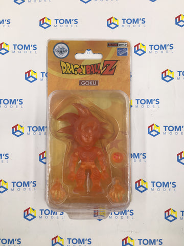 The Loyal Subjects Super Double Diamond Club Dragon Ball Z Goku Clear Orange