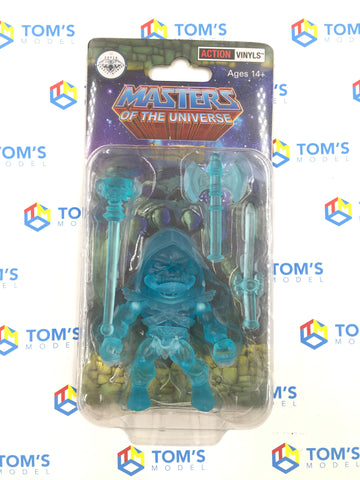 The Loyal Subjects Super Double Diamond Club Masters Of The Universe Skeletor Clear Blue