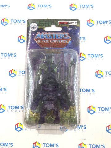 The Loyal Subjects Super Double Diamond Club Masters Of The Universe Skeletor Clear Purple