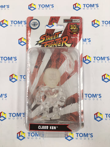 The Loyal Subjects Super Double Diamond Club Street Fighter Ken Clear