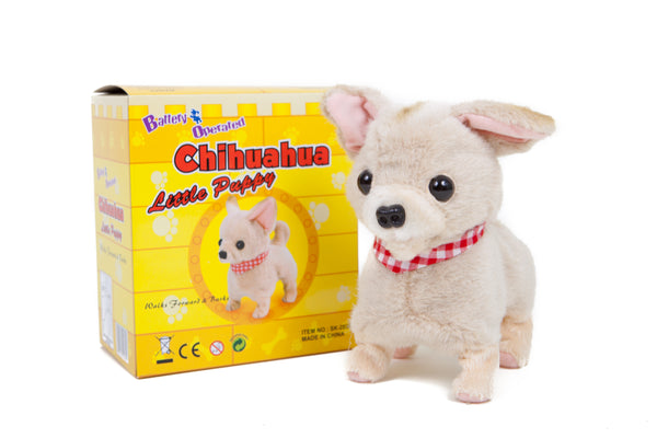 Chihuahua Little Puppy Battery Operated Toy Dog