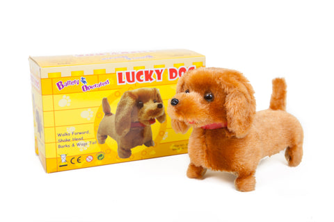 Lucky Dog Battery Operated Toy