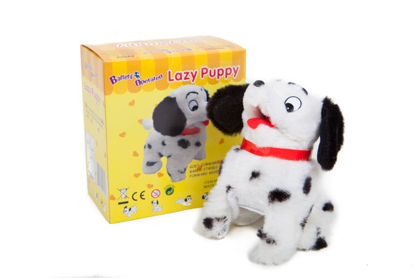 Lazy Puppy Battery Operated Toy Dog