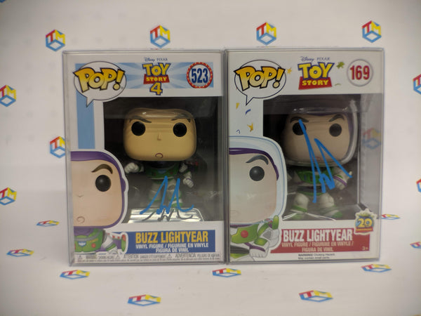 Funko Pop! Disney Toy Story Buzz LightYear Signed by Tim Allen (Buy. Sell. Trade.)
