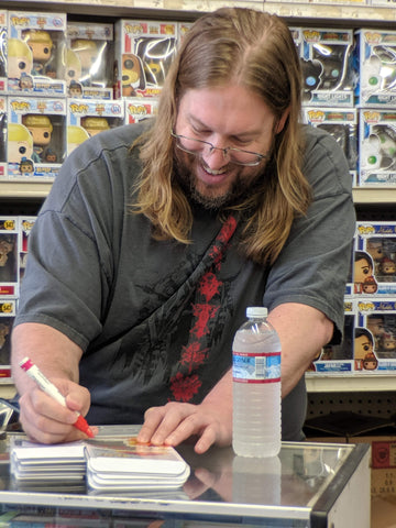 Private Signing with Voice Actor Patrick Seitz November 2019