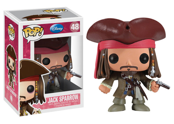 Pop!  Disney Vinyl Jack Sparrow