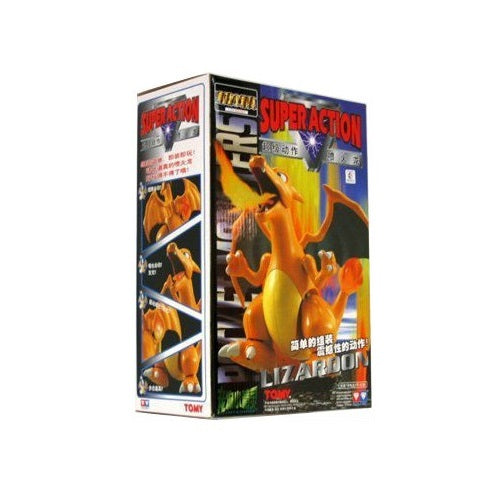 "Vintage Tomy Super Action Model Kit Pokemon Charizard Lizardon 8"" Figure (Buy. Sell. Trade.)"