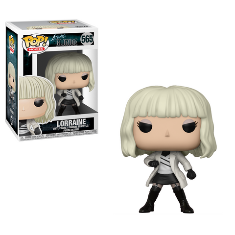 Funko POP! Movies: Atomic Blonde  - Lorraine with White Coat (Coming in March)