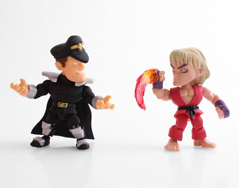 The Loyal Subjects SDCC 2017 Exclusive Street Fighter Ken vs Bison 2 pk