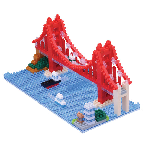 Nanoblock Golden Gate Bridge 380pcs NBH-116