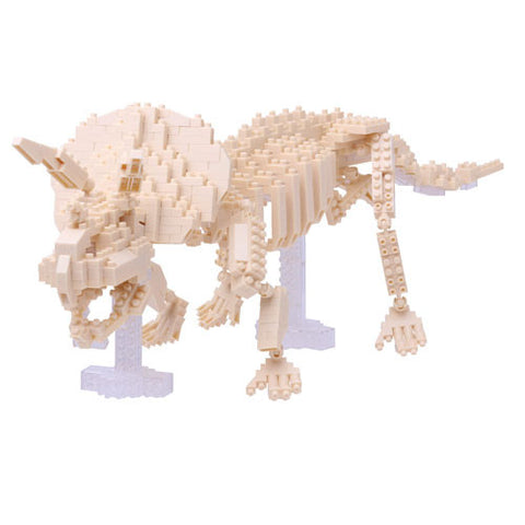 Nanoblock Advanced Hobby Series Triceratops Skeleton Model