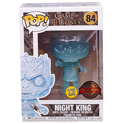Funko Pop! Television: Game of Thrones Night King 84 (GITD) HBO Exclusive Special Edition Sticker (Buy. Sell. Trade.)