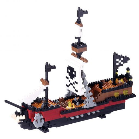 Nanoblock Pirate Ship 780pcs NBM-011