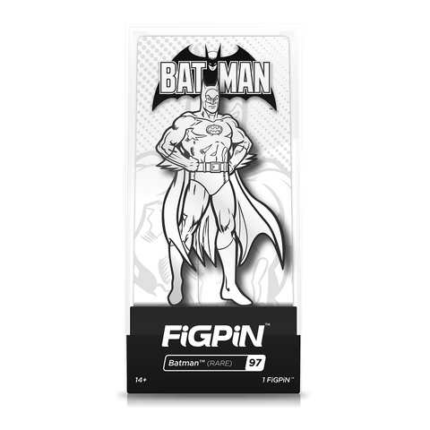 FiGPiN Batman Black/White (Coming in September)