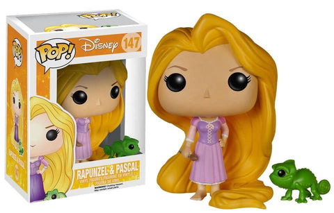 Pop!  Disney Vinyl Tangled Rapunzel & Pascal