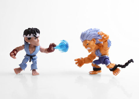 The Loyal Subjects SDCC 2017 Exclusive Street Fighter Ryu vs Blanka 2 pk