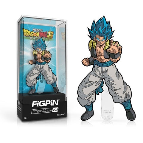 FiGPiN Dragon Ball Super - Super Saiyan God Super Saiyan Gogeta #202 (Coming Soon)