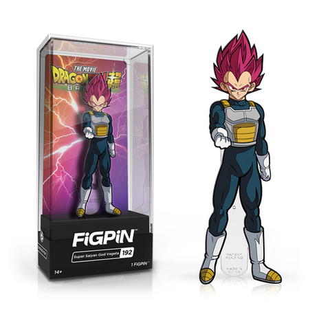FiGPiN Dragon Ball Super - Super Saiyan God Vegeta