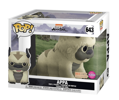Funko Pop! Animation: Avatar Appa 643 Flocked Box Lunch Exclusive (Buy. Sell. Trade.)