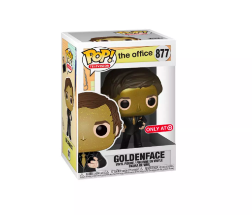 Funko Pop! Television: The Office - Goldenface 877 Target Exclusive (Buy. Sell. Trade.)