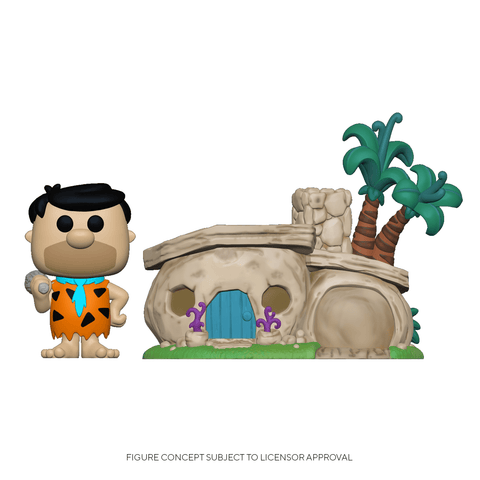 Funko Pop! Town: Flintstones - Flintstone's Home (Coming Soon) New York Toy Fair Reveals