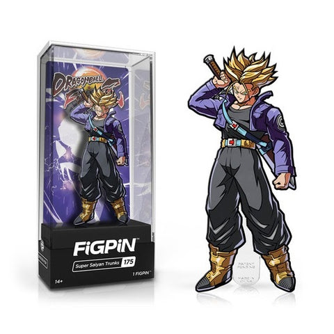 FiGPiN Dragon Ball Fighter Z- Super Saiyan Trunks