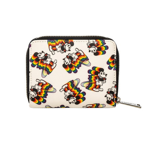 Loungefly Mickey Rainbow Print Wallet
