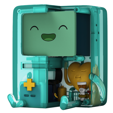 "Mighty Jaxx XXRAY PLUS 6"" BMO CLEAR EDITION"