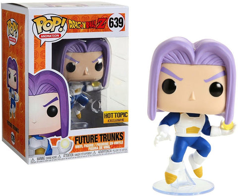 Funko Pop! Animation Dragon Ball Z Future Trunks 639 ( Hot topic Exclusive) (Buy. Sell. Trade.)