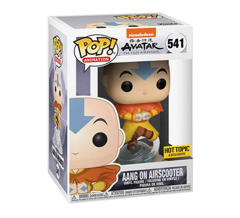 Funko Pop! Animation: Avatar - Aang on Airscooter (Hot topic Exclusive) (Buy. Sell. Trade.)