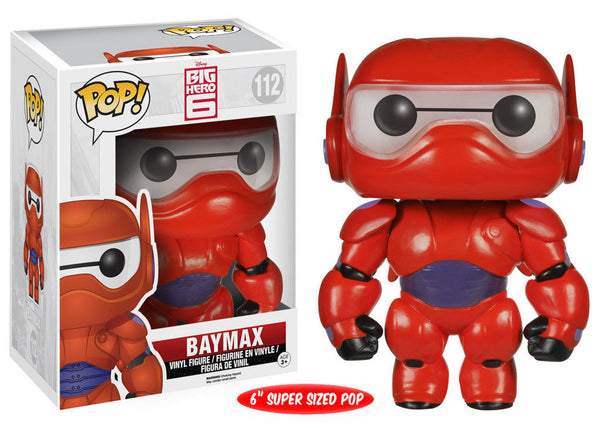 Pop! Disney Vinyl Big Hero 6 Baymax 6""
