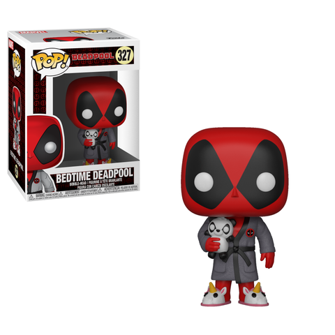 Funko Pop! Marvel: Deadpool in Robe