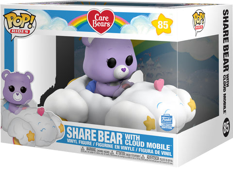 Funko Pop! Rides Care Bears Share Bear with Cloud Mobile 85 (Funko Shop Exclusive) (Buy. Sell. Trade.)