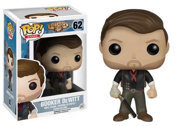 Pop! Games Vinyl Bioshock Booker DeWitt